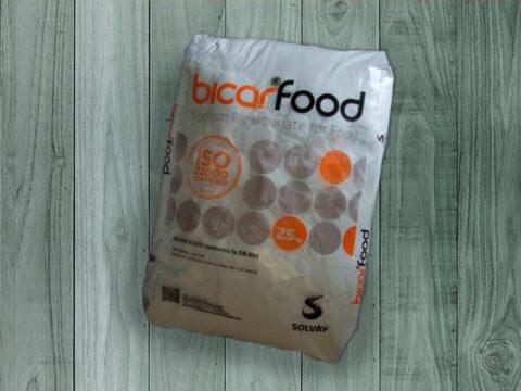 Sodio bicarbonato alimenticio (Orgien Solvay)