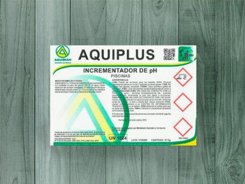 Aumento +pH líquido aquiplus – Bidón de 35 Kg