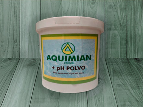 Aumento +pH polvo aquimian – Bidón de 6 Kg