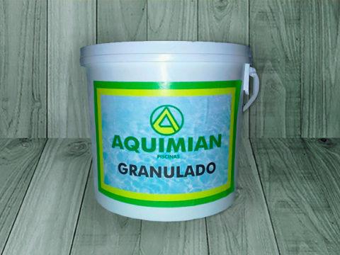 Cloro granulado aquimian – Bidón de 5 Kg