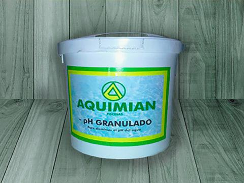 Disminución pH granulado aquimian – Bidón de 8 KG
