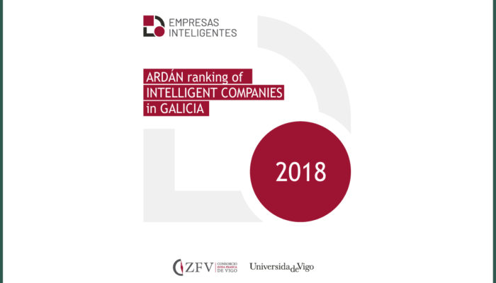 DROGAS VIGO S.L in the ARDÁN ranking of Intelligent Companies in Galicia