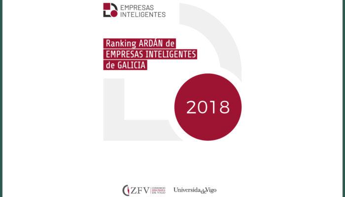 DROGAS VIGO S.L en el ranking ARDÁN de Empresas Inteligentes de Galicia