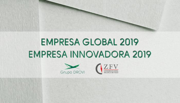 Grupo DROVI recibe indicadores ARDÁN 2019 en EMPRESA GLOBAL y EMPRESA INNOVADORA