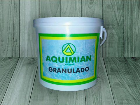 AQUIMIAN granulated chlorine – 5 kg drum