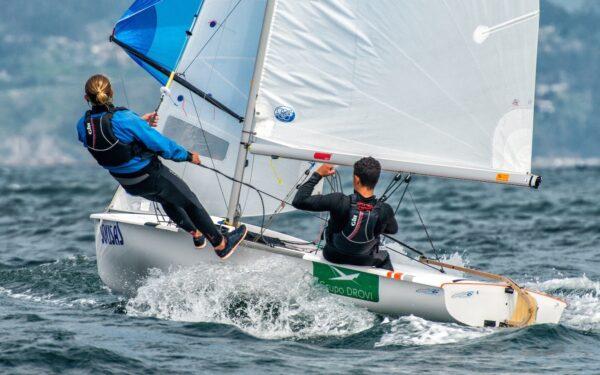 We support Antonio López and Gregorio Belmonte, Class 420 sailors.