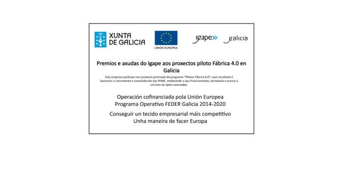 Ayudas del IGAPE a los proyectos piloto Fábrica 4.0 en Galicia