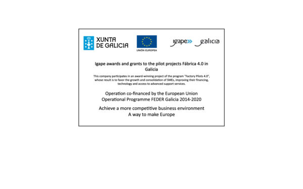 IGAPE aid for pilot projects Factory 4.0 in Galicia