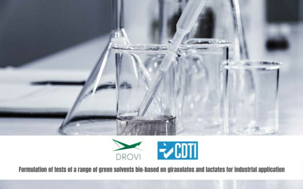 THE CDTI GRANTS AID FOR RESEARCH AND DEVELOPMENT OF NEW SOLVENTS TO DRUGS VIGO S.L.
